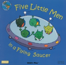 Five Little Men in a Flying Saucer, Board book Book
