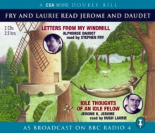 Fry and Laurie Read Daudet and Jerome, CD-Audio Book
