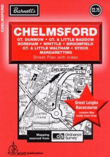 Chelmsford Street Plan, Sheet map, folded Book