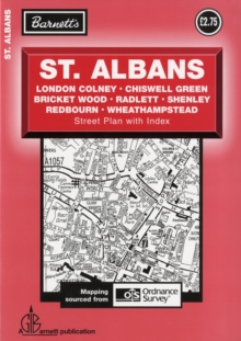 St Albans Street Plan, Sheet map, folded Book