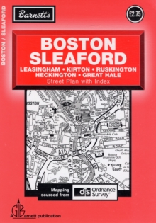 Boston Street Plan, Sheet map, folded Book