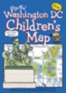 Washington DC Children's Map, Sheet map Book