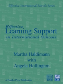 Effective Learning Support in International Schools, Paperback Book