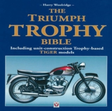 The Triumph Trophy Bible, Hardback Book
