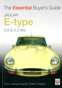 Jaguar E-type 3.8 and 4.2 Litre, Paperback Book