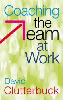 Coaching the Team at Work, Paperback Book