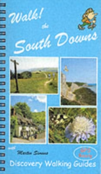 Walk! the South Downs, Spiral bound Book