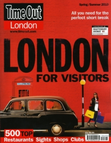 """Time Out"" London for Visitors, Paperback Book"