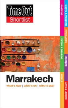 Time Out Marrakech Shortlist, Paperback Book