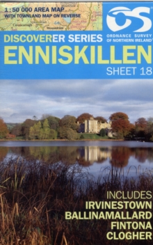 Enniskillen, Sheet map, folded Book