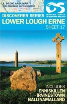 Lower Lough Erne, Sheet map, folded Book