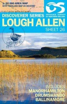 Lough Allen, Sheet map, folded Book