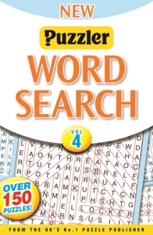 New Puzzler Wordsearch : Vol. 4, Paperback Book