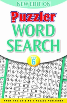 Puzzler Word Search : Vol. 6, Paperback Book