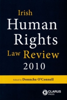 Irish Human Rights Law Review, Paperback / softback Book
