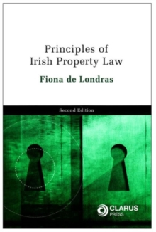 Principles of Irish Property Law, Book Book