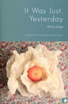 It Was Just Yesterday, Paperback Book