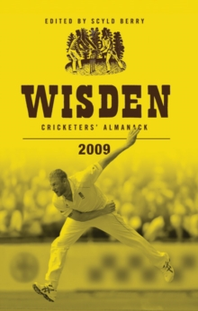 Wisden Cricketers' Almanack 2009, Hardback Book
