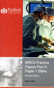 MRCS Practice Papers Part A : Paper 1 SBAs, Paperback Book