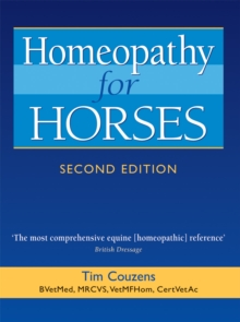 Homeopathy for Horses, Paperback / softback Book