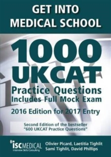 Get into Medical School - 1000 UKCAT Practice Questions. Include Full Mock Exam, Paperback Book