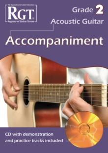 Acoustic Guitar Accompaniment RGT Grade Two, Paperback Book