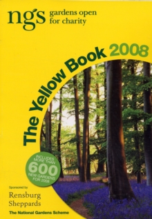 The Yellow Book : NGS Gardens Open for Charity, Paperback Book