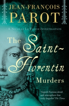 The Saint-Florentin Murders, Paperback Book