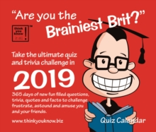 Are you the Brainiest Brit B 2019, Paperback Book