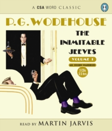 The Inimitable Jeeves : Volume 1, CD-Audio Book