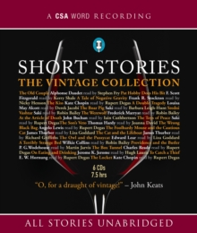 Short Stories: The Vintage Collection, CD-Audio Book