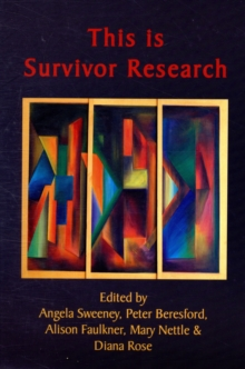 This is Survivor Research, Paperback Book