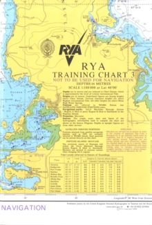 RYA Training Chart : No. 3, Sheet map, folded Book