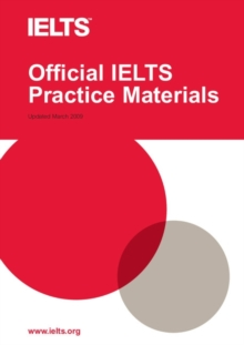 Official IELTS Practice Materials : Official IELTS Practice Materials 1 with Audio CD, Mixed media product Book