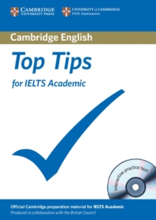 Top Tips for IELTS Academic Paperback with CD-ROM, Mixed media product Book