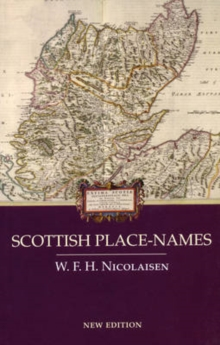 Scottish Place-names, Paperback / softback Book