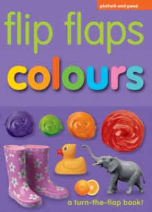 Flip Flaps Colours, Hardback Book