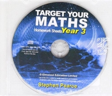Target Your Maths Year 3 Homework CD, CD-ROM Book
