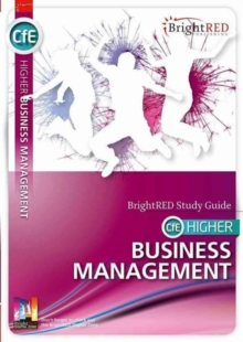 BrightRED Study Guide CFE Higher Business Management, Paperback Book