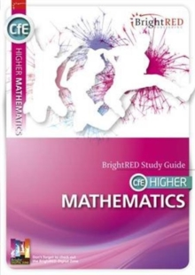 BrightRED Study Guide CFE Higher Mathematics, Paperback Book
