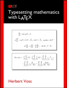 Typesetting Mathematics with LaTeX, Paperback / softback Book