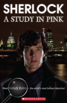 Sherlock - A Study in Pink - Book and Audio CD, Mixed media product Book