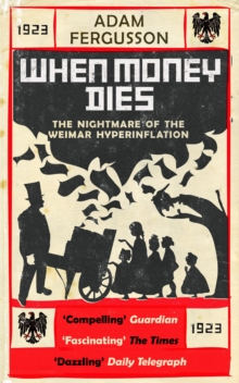 When Money Dies : The Nightmare of the Weimar Hyper-inflation, Paperback Book