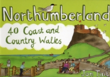 Northumberland : 40 Coast and Country Walks, Paperback Book