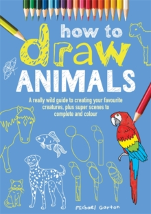 How to Draw Animals, Paperback Book