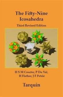 The Fifty-nine Icosahedra, Paperback Book