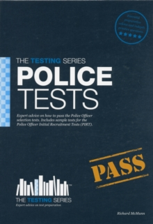 Police Tests: Practice Tests for the Police Initial Recruitment Test, Paperback / softback Book