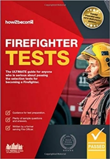 Firefighter Tests: Sample Test Questions for the National Firefighter Selection Tests, Paperback / softback Book