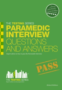 Paramedic Interview Questions and Answers, Paperback Book