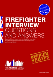 Firefighter Interview Questions and Answers, Paperback Book